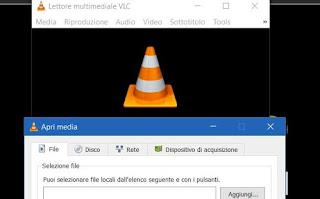 convertire video con VLC