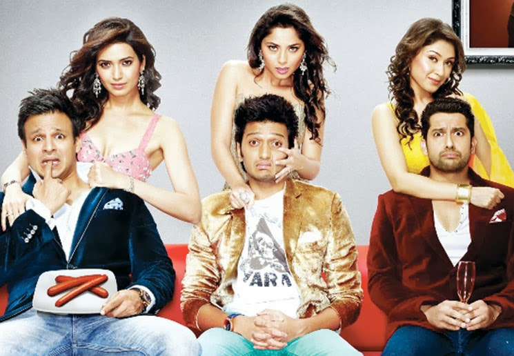 Comedy in Bollywood film Grand-Masti
