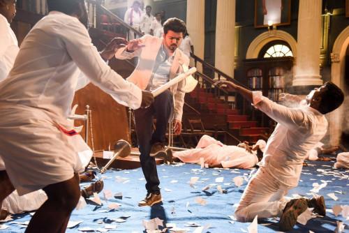 SARKAR Movie Vijay's Photos-Shooting pics,Keerthi Suresh,Varalakshmi Sexy Photos