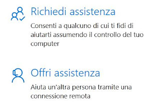 supporto remoto su PC