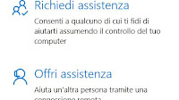 Dare assistenza al PC di amici con Windows 10
