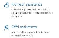 Dare assistenza al PC di amici con Windows 10