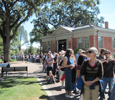 Line for Pioneer Day Bean Feed, 2010, ©B. Radisavljevic