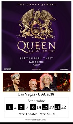 QUEEN + ADAM LAMBERT VEGAS