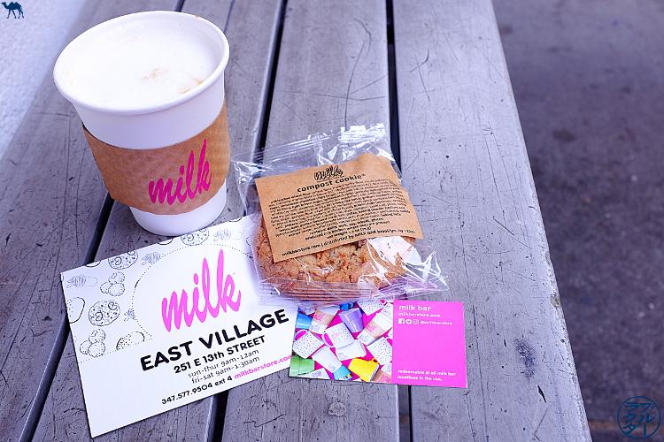 Le Chameau Bleu - Séjour à new York - Sélection adresse Cookies Milk Bar Bakery