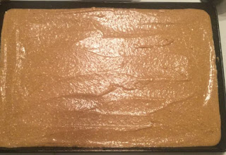 30 minutes or less, cake, dessert, fall, holiday, pumpkin, Thanksgiving, sheet cake, easy Pumpkin Sheet cake recipe