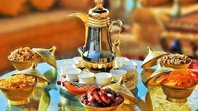 Islamo pasaulio patiekalai, ramadano stalas