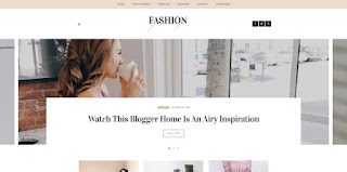 fashion gossip blogger template 2018