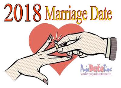 2018 Shubh Bibaho Dates