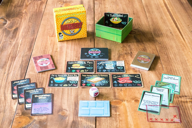 What's for Dinner? Card Game by A La Carte Games