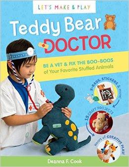 DIY Toy Stethoscope Teddy Bear Doctor