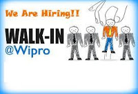 Freshers Walkin at Wipro - Multiple Locations On 1st to 3rd Sep 2016