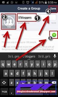 cara membuat grup baru di aplikasi line android