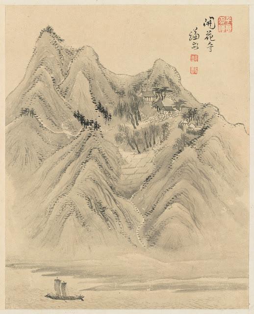겸재(謙齋) 정선(鄭敾, 1676~1759) 경교명승첩(京郊名勝帖) 개화사