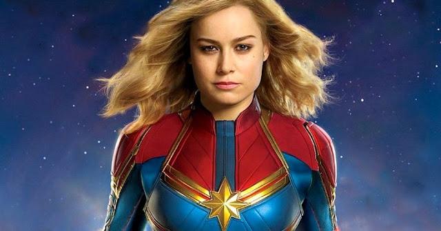 """Na ultima edição de 2018 da revista Empire, foi divulgada uma nova imagem sobre o filme da Capitã Marvel. Na """"fotografia"""" podemos ver Brie Larson e Jude Law treinando em uma instalação espacial – Confira!"""