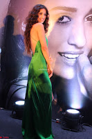 Disha Patani in Beautiful Green Gown at her App Launch 004.JPG