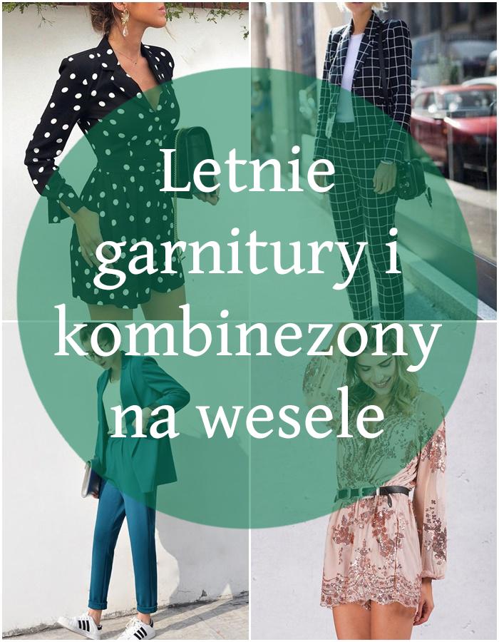 Przegląd: weselna alternatywa, czyli damskie garnitury i kombinezony
