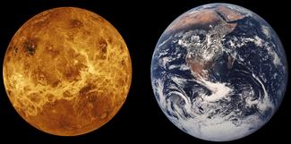 Venus es muy similar a la Tierra