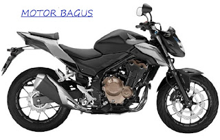 Harga motor CB500F lengkap dengan spesifikasi
