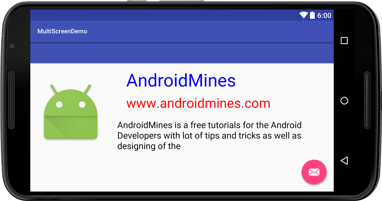 Supporting Multiple Screen Sizes in Android - AndroidMines com