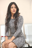 Actress Chandini Chowdary Pos in Short Dress at Howrah Bridge Movie Press Meet  0113.JPG