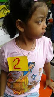 Firyal Hasna Firdaus, Juara 1 Lomba Mewarnai