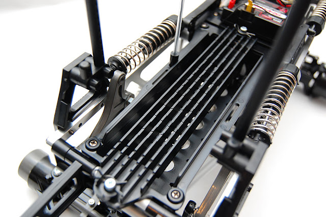 Tamiya TXT-1 battery tray