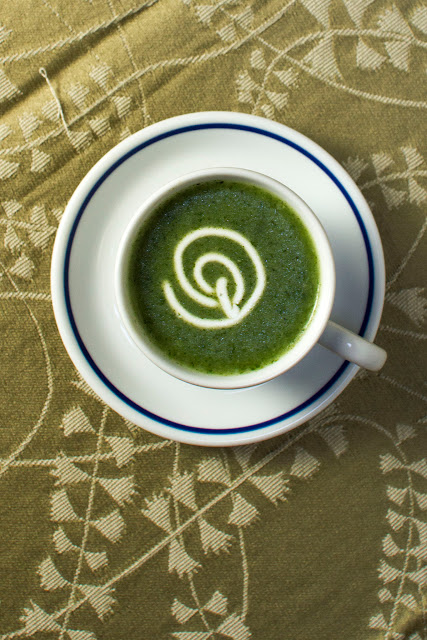 Nettle Soup, soup, vegetarian soup