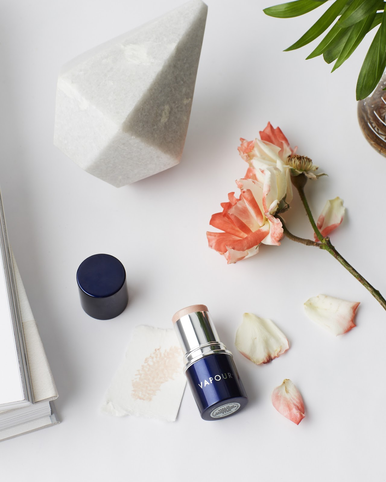 Vapour Organic Beauty Halo Illuminator swatches organic makeup brand natural nontoxic hellolindasau