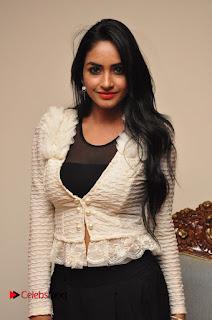 Actress Pooja Sree  Pictures at Khaan Saab Restuarent Launch in Gachibowli   0013.JPG
