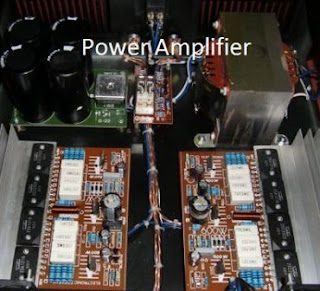 Teknik merakit power amplifier high fidelity