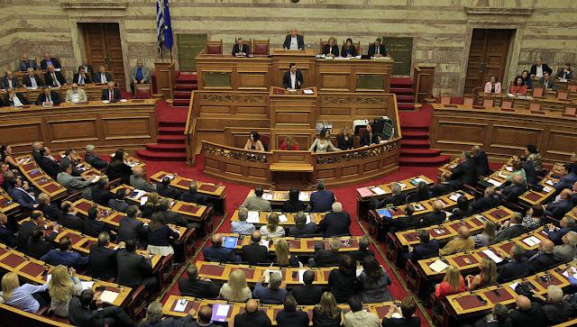 Μέτρα 4,64 δισ. ευρώ ψηφίζει ως την Πέμπτη το βράδυ η Βουλή