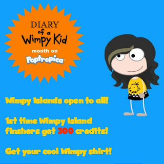 Wimpy Kid Islands open through the weekend only!
