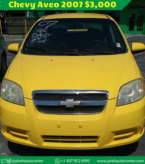 Chevy Aveo 2007 - Yireh Auto Center