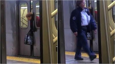 Kepala Wanita Tersepit Di Pintu Gerabak, Pegawai Stesen Buat Tak Nampak