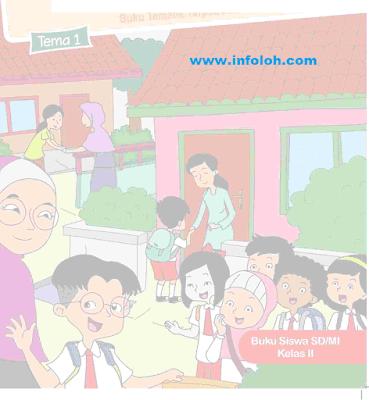 Buku Siswa Kelas 2 SD / MI Tema 1 Hidup Rukun Terbaru