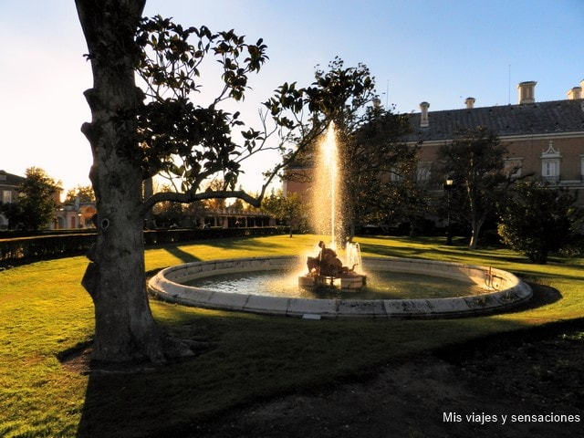 Fuente de las Nereidas, Palacio Real de Aranjuez