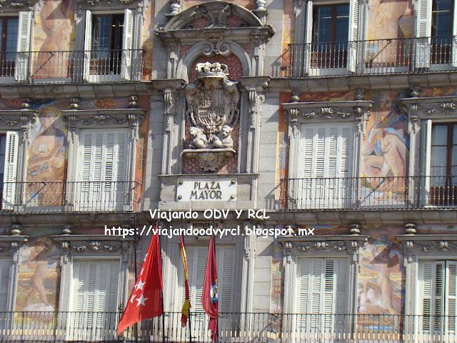 Que hacer, a donde ir, que visitar en Madrid. Plaza Mayor.