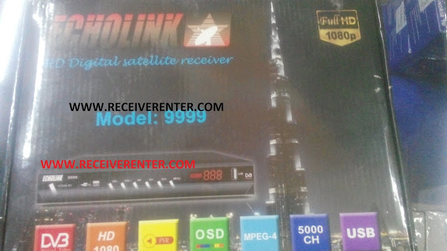 ECHOLINK MODEL 9999 HD RECEIVER AUTO ROLL POWERVU KEY SOFTWARE