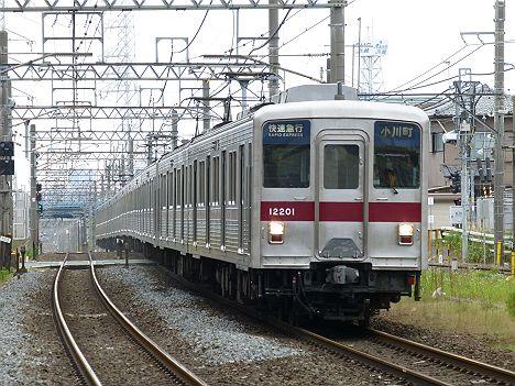 東武東上線 快速急行 小川町行き6 10000系(2016.3廃止)
