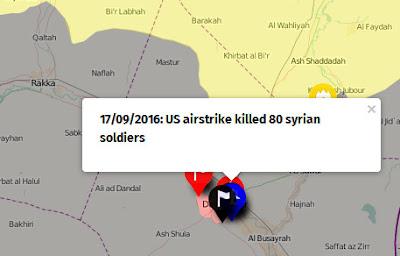 AS salah sasaran 80 pasukan assad tewas