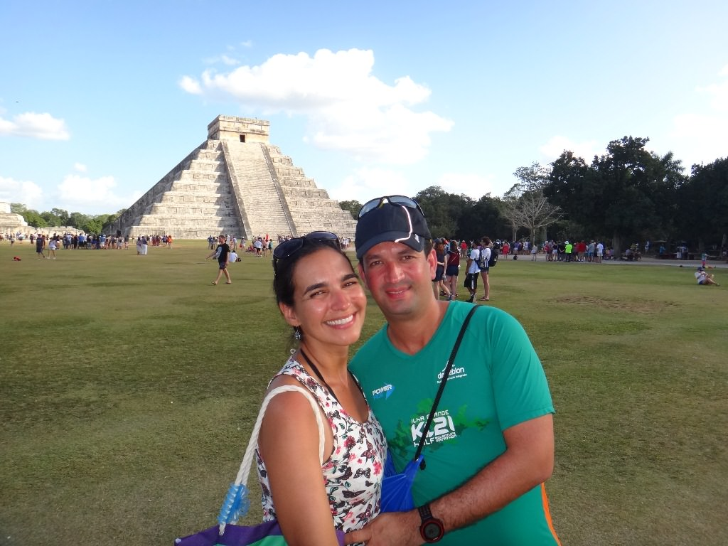 Pirâmide Maia em Chichén Itzá