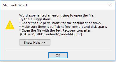 file xlsx tidak bisa dibuka di excel 2010
