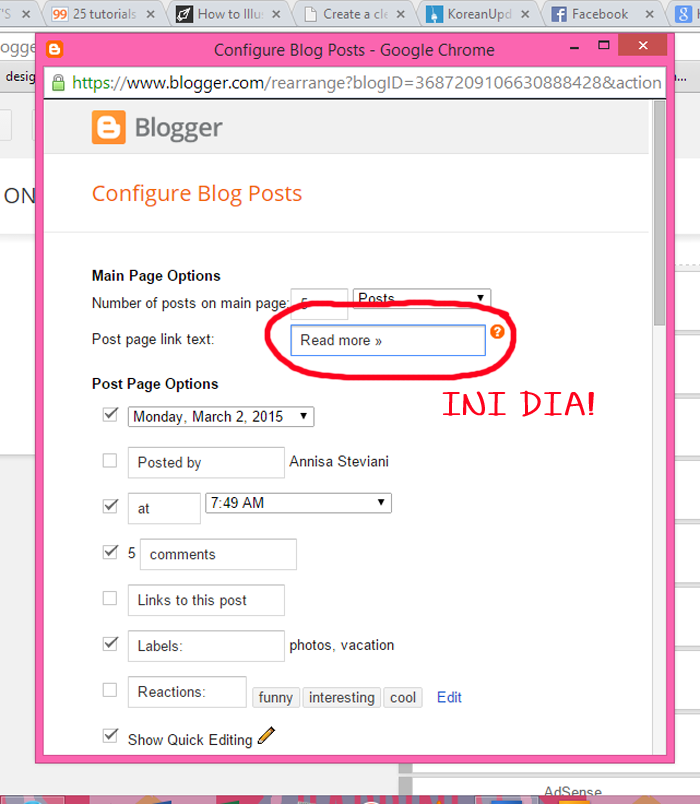 cara mengganti read more dengan image - how to customize read more button with an image