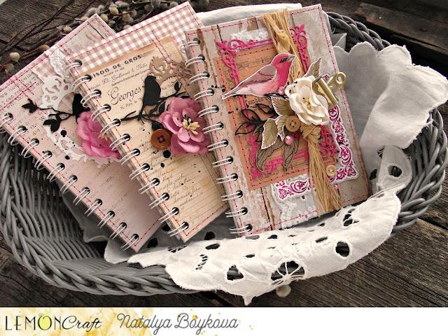 Notesy vintage z Domem Róż - Vintage notebooks with House of Roses