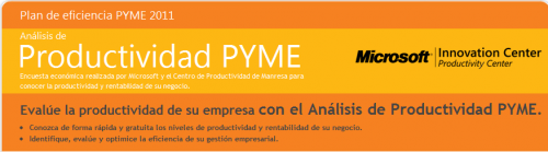 Tes de productividad Pyme Microsoft