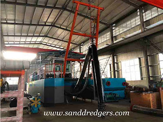 sand pumping machine