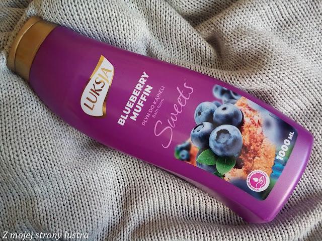 blueberry muffin płyn do kąpieli