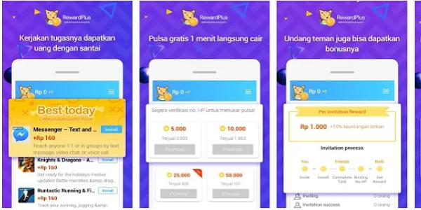 Aplikasi Pulsa Gratis Untuk All Operator Indonesia