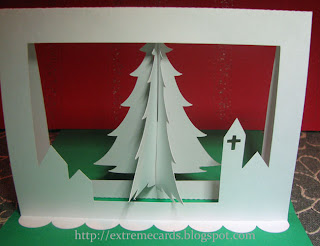 3d christmas tree pop up 1